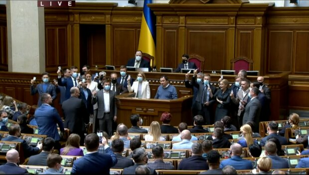 Голосування за законопроект 2194 - скріншот