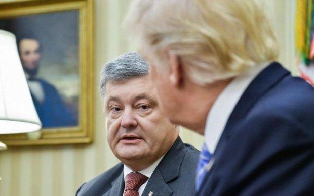 Стало відомо, про що Порошенко поговорить з Трампом
