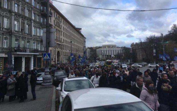 Протест на Грушевського: вчителі повстали проти Кабміну