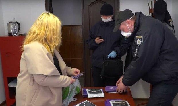 незаконная торговля, скриншот с видео