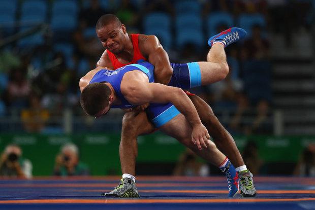 Жан Беленюк - чемпион мира, украинский борец греко-римского стиля. Getty Images