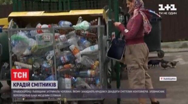 """На Львовщине схватили ночной кошмар всех коммунальщиков: """"Замучил воровать мусорники"""""""