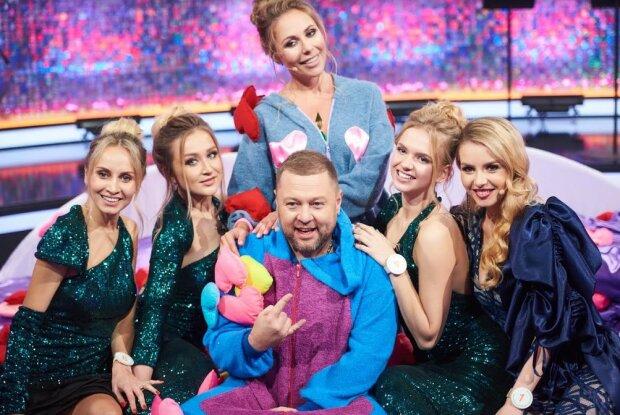 Александр Пикалов в Кто против блондинок, фото: пресс-служба Нового канала