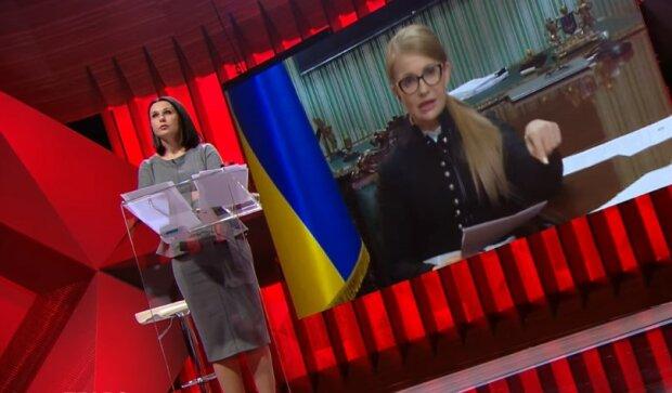 "Юлия Тимошенко на ""Право на владу"", скриншот видео"