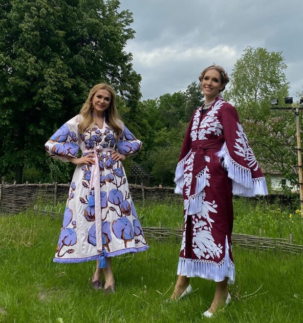 Ольга Сумська та Катя Осадча, фото: Instagram акторки