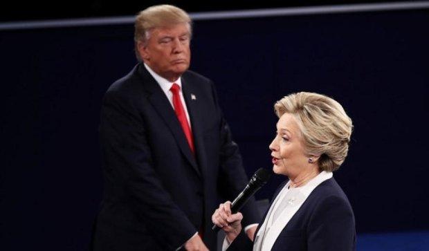 Про що сперечались Клінтон і Трамп на дебатах
