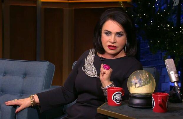 Надежда Бабкина, скрин из видео