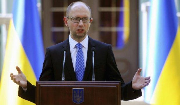 Ми  проведемо через парламент законопроект щодо реструктуризації боргу – Яценюк