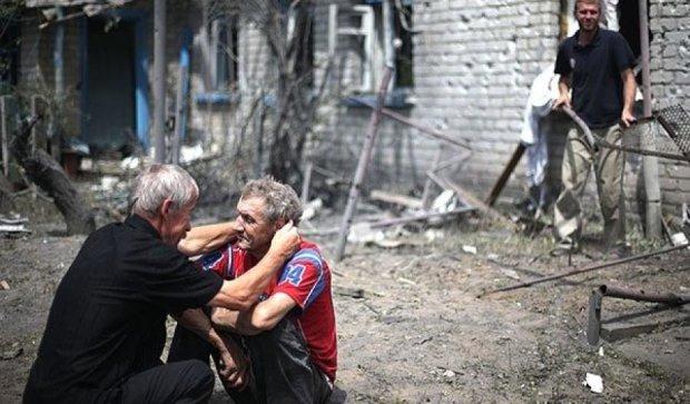 Боевики забросали снарядами мирных жителей Донбасса