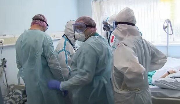 Лікарні при коронавірусі, скріншот: Youtube