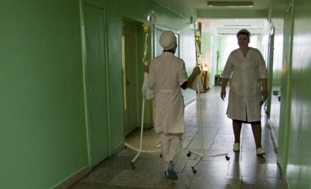 В лікарні, фото Уніан