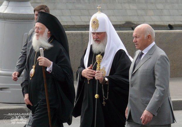 Московські попи пішли в атаку: стало відомо, про що Кирило говорив з Варфоломієм