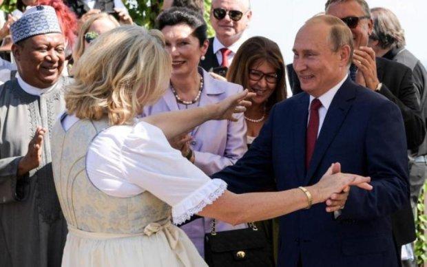Глава МИД Австрии вывалила жалкие оправдания после танца с Путиным