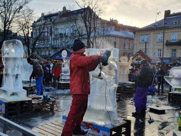 Ледовые скульптуры / фото: Galnet