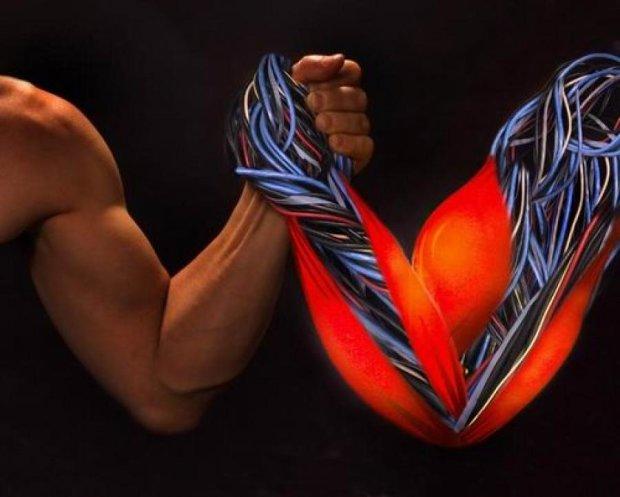 Штучні м'язи із полімеру зможуть  відновлюватися самостійно