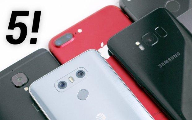 """Краща камера в смартфоні: """"сліпий"""" вибір з Топ-5"""