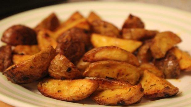 "Американська кухня: картопля ""Айдахо"""