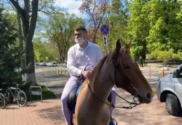 Валентин Бурьяновна коне, фото Facebook