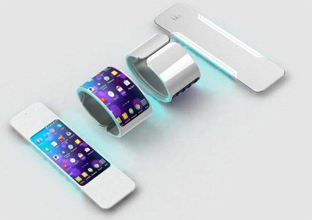 Маразм крепчал: LG запатентовала гибкий смартфон наизнанку
