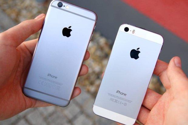 iPhone 5S і iPhone 6S