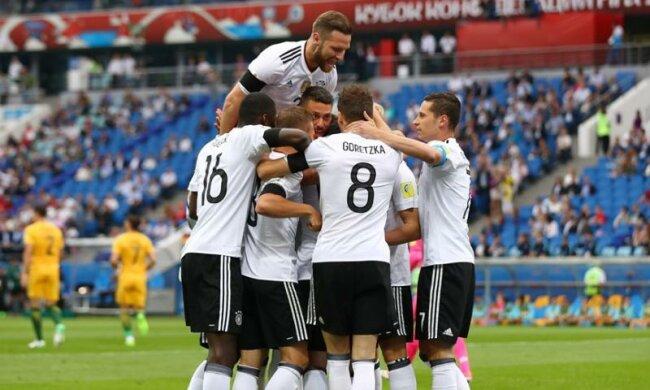 Германия одолела Чили и выиграла Кубок Конфедераций