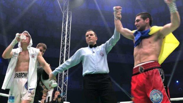 Украинский боксер Чухаджян разнес россиянина Воробьева в титульном бою