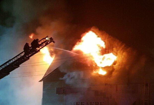 Пожежа на Борщагівці