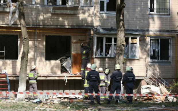 Под Киевом раздался мощный взрыв