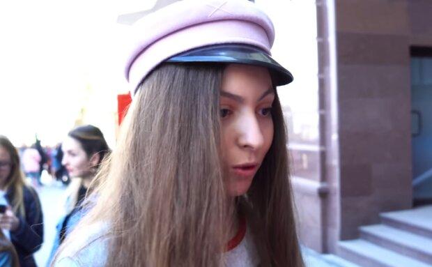 Маша Полякова, скрін з відео