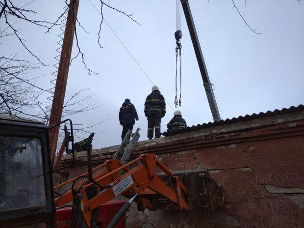 Вибух у школі на Миколаївщині, фото ДСНС