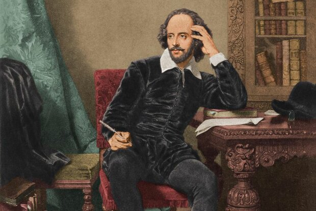 портрет Шекспіра, репродукція