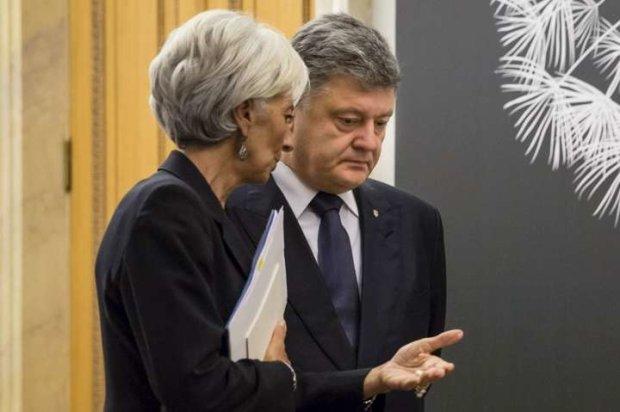 Порошенко и Лагард