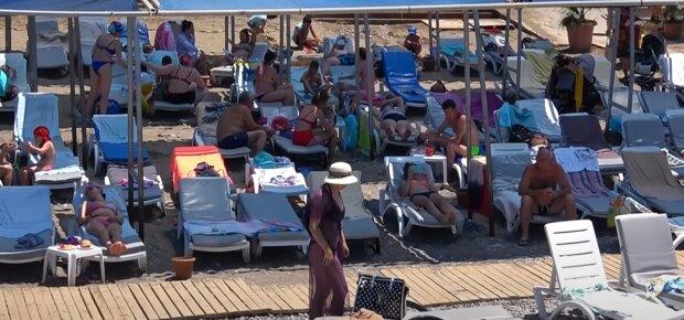 Пляж в Туреччині, кадр з відео, зображення ілюстративне: YouTube