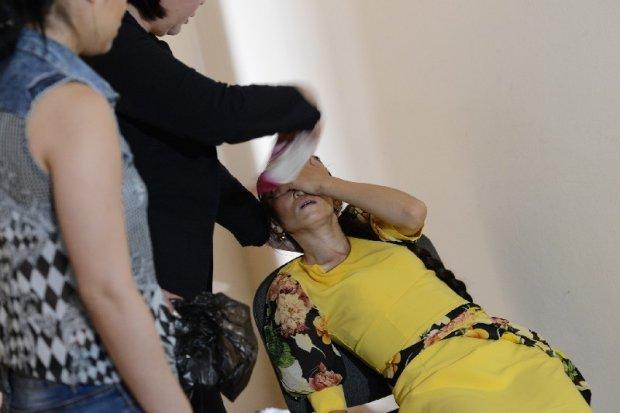 У Києві жінка, не отримавши бюлетень, знепритомніла