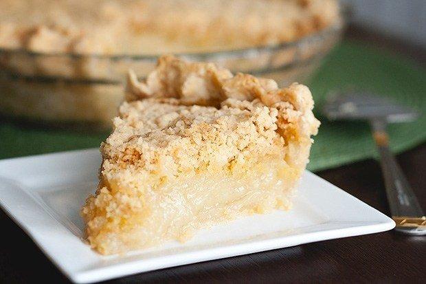 Рецепт для настоящих сладкоежек: ванильный пай