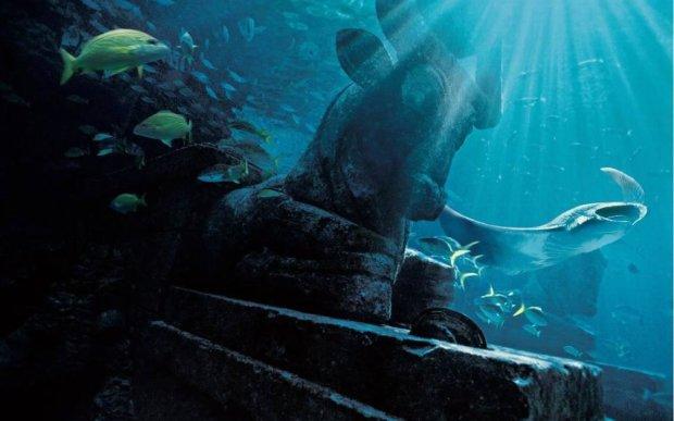 В Google Earth рассмотрели загадочный подводный город