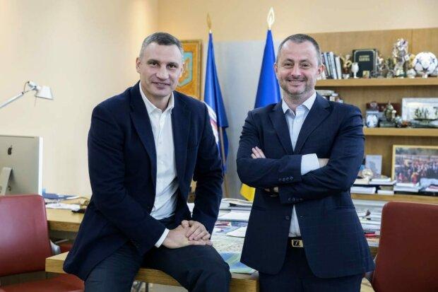 Максим Бахматов, Виталий Кличко - фото с Фейсбук (страница Максима Бахматова)