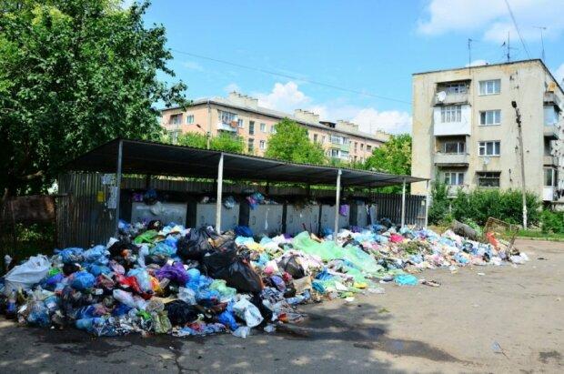 Вонь на всю Львовщину: город утопает в мусоре, коммунальный Апокалипсис показали одним фото