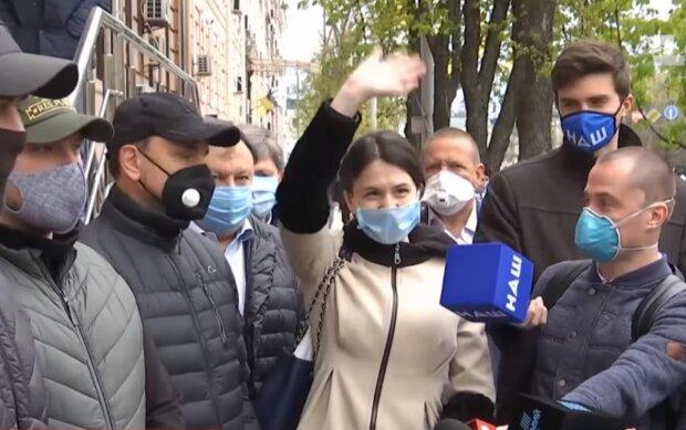 Татьяна Чорновол, скриншот с видео