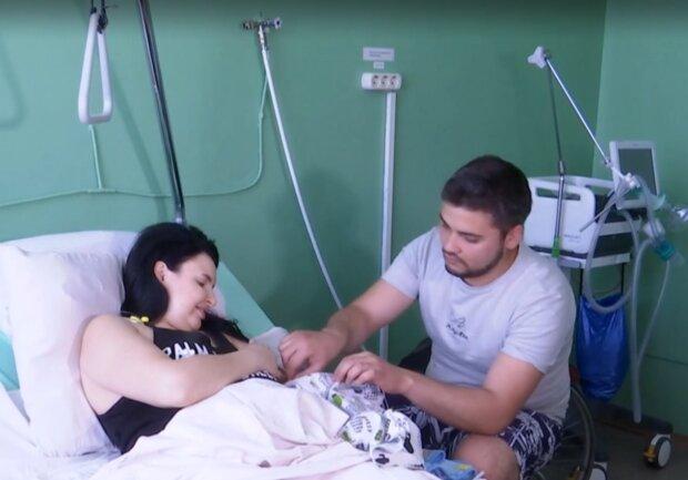 Марина и Омар Пеикришвили, скриншот: видео ТСН