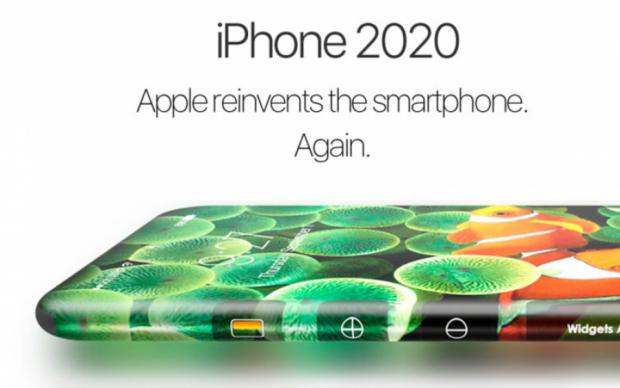 У мережі показали концепт iPhone 2020 року