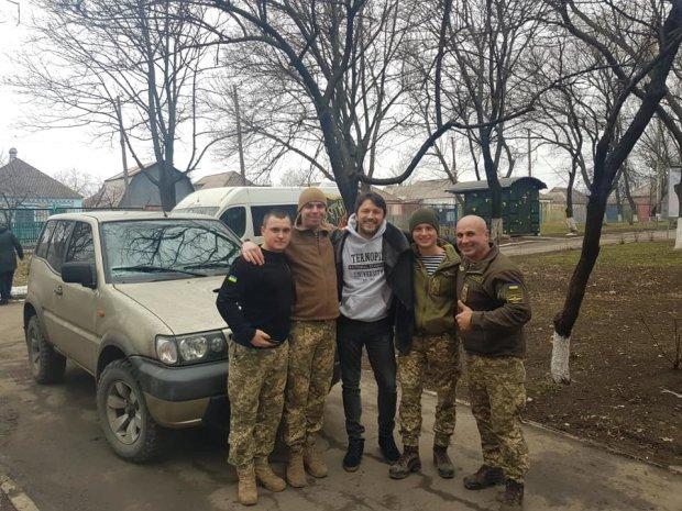 Сергей Притула помогает украинской армии