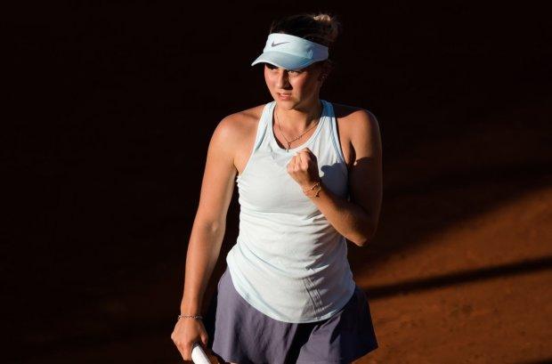 Костюк вперше в кар'єрі пробилася до чвертьфіналу турніру WTA