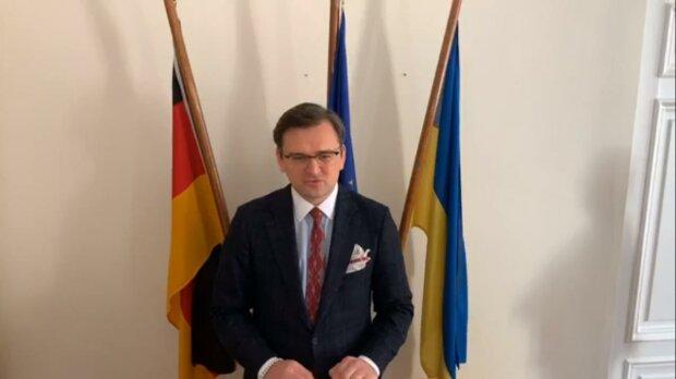 Глава МЗС Дмитро Кулеба, скріншот з відео