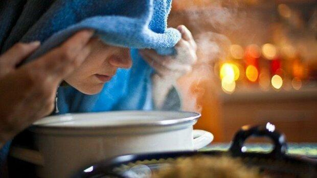 Женщина дышит над картошкой, Агроном Эксперт