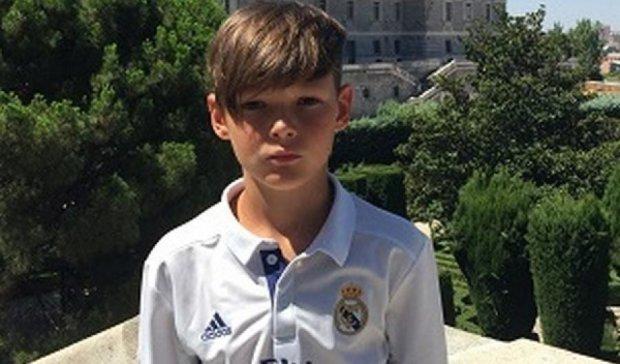 Одинадцятирічний українець став воротарем збірної Реала
