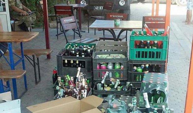 СБУ помешала террористам торговать российской водкой (фото)