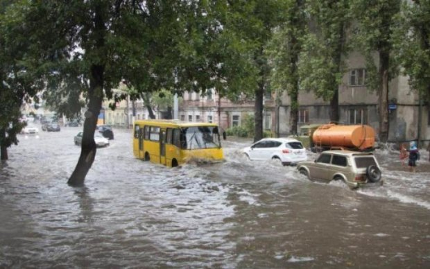Украинская Венеция: улицы Львова заполонила большая вода