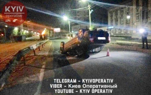П'яна ДТП у Києві: дві людини в лікарні
