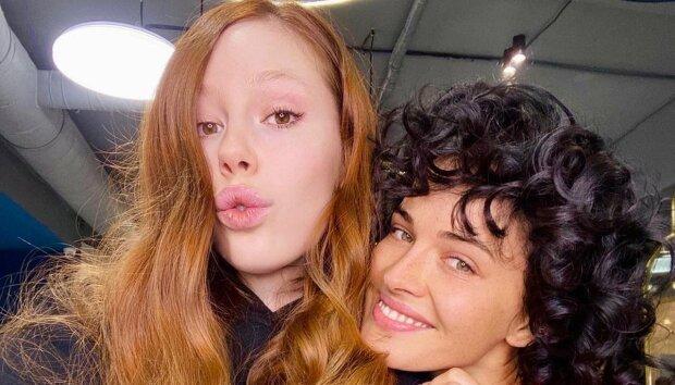 Даша Астаф'єва та Соня Плакидюк, фото з Instagram